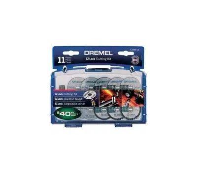 Dremel EZ688-01 Ez Lock Cutting Kit Mini Mtl/Plst 11pc