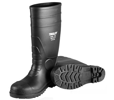 Tingley Rubber 31151.11 Size 11 Black Pvc Sock Boot