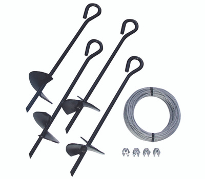 Tie Down Engineering 59070 All Purpose Anchor Kit