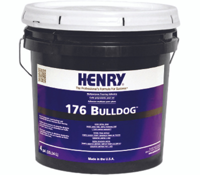 WW Henry 11987 Bulldog 4 Gal Vinyl And Carpet Adhesive