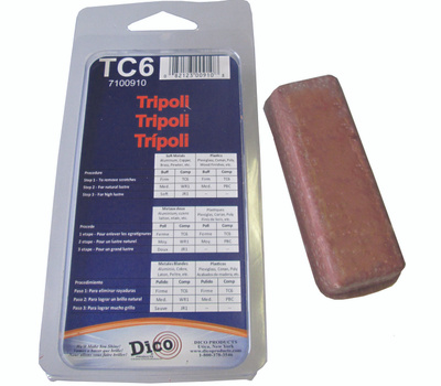 Dico 7100910 Compound Tripoli Small Clamshell