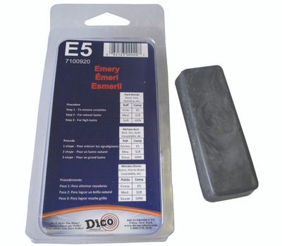 Dico 7100920 Buffing Compound Small Emery Firm