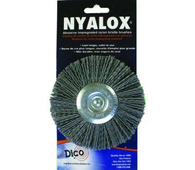 Dico 541-772-4 4 Inch Gray Course Mounted Wheel