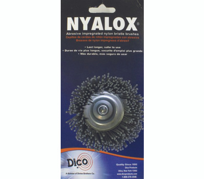 Dico 541-774-21/2 2.5 Inch Grey Course Cup Brush