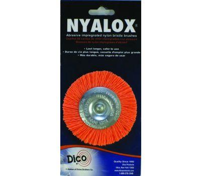 Dico 541-777-3 3 Inch Orange Medium Mounted Wheel