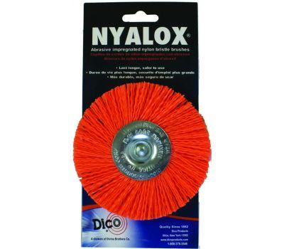 Dico 541-778--4 4 Inch Orange Medium Mounted Wheel
