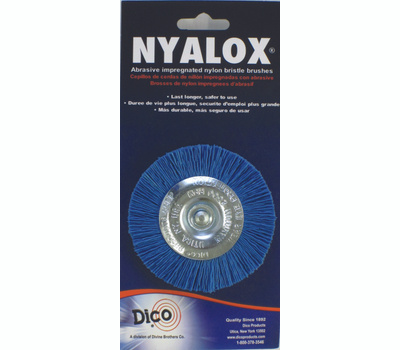 Dico 541-783-3 3 Inch Blue Fine Mounted Abrasive Wheel