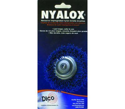 Dico 541-786-21/2 2.5 Inch Blue Fine Cup Brush
