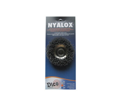 Dico 7200004 Brush Cup Gray Crs 3x5/8-11in
