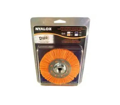 Dico 7200077 Brush Whl Org Med 4.5x5/8-11in