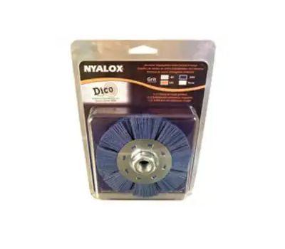 Dico 7200079 Brush Whl Blue Fn 4.5x5/8-11in