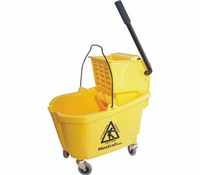 Simple Spaces 9130 Pro Mop Bucket 32 Quart With Ringer