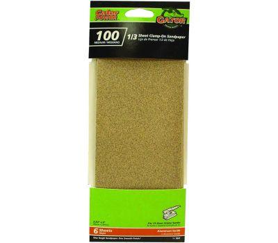 Ali 5042 Gator 3-2/3 By 9 Inch Multi Surface Sandpaper 100 Grit Aluminum Oxide 6 Sheets