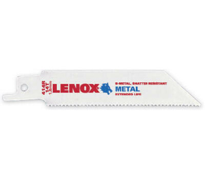 Lenox 20550 414R Tuff Tooth 14 Tooth Reciprocating Blade Pack Of 5
