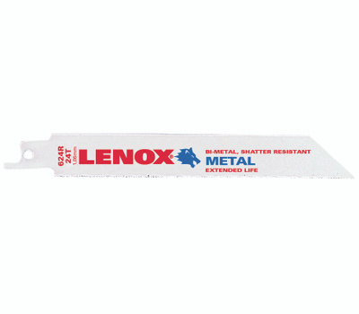 Lenox 20568 624R Tuff Tooth 24 Tooth Reciprocating Saw Blade Pack Of 5