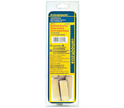 Eazypower 39411 1/2 By 1-1/2dowel Pin 18 Pack