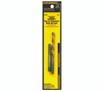 Eazypower 82738 Drill Bit Set 5/16-18 NC #F 2 Pack