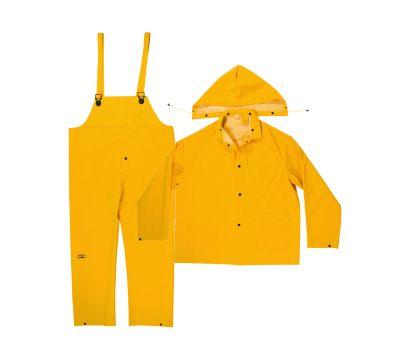 Custom Leathercraft R101L Climate Gear 3 Piece Heavyweight Rain Suit Large