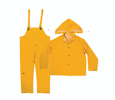 Custom Leathercraft R1012X Climate Gear 3 Piece Heavyweight Rain Suit 2Xlarge