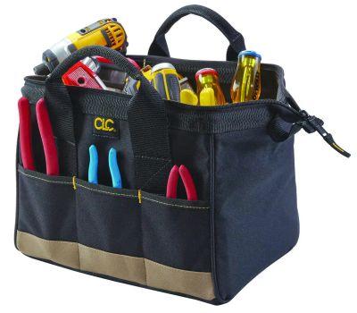 Custom Leathercraft 1161 14 Pocket 12 Inch Tool Bag