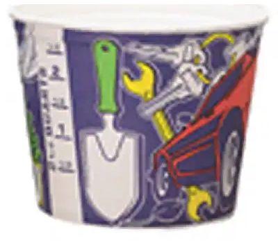 Leaktite 05T1-50 2-1/2 Quart Paper Paint Pot