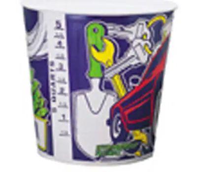 Leaktite 10T1-50 5 Quart Paper Paint Pot