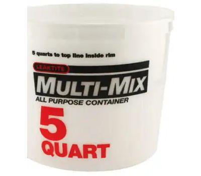 Leaktite 10M3-50 5 Quart Calibrated Mixing Container