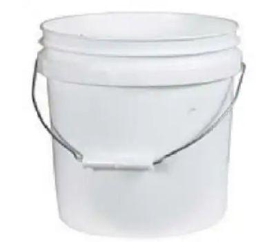 Leaktite 001G01WH024 Gallon White Plastic Pail