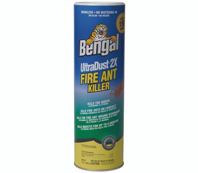 Bengal Chemical 93625 Fire Ant Killer, Powder, 24 Ounce Canister