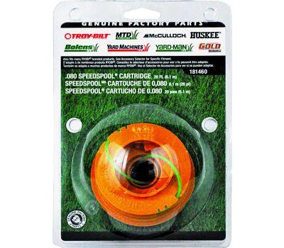 MTD Products 49U1460K953 Cartridge Speed Spool, 0.08 in Dia, 20 Ft L, Co-Polymer