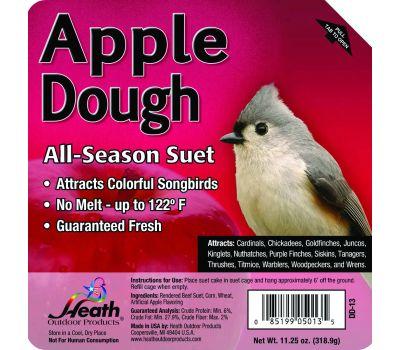 Heath DD-13 Feed Dough Suet Cake Apple