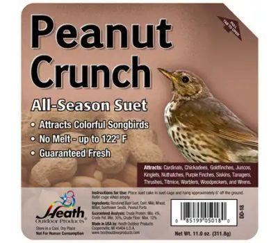 Heath DD-18 All Seasons Suet Peanut Crunch
