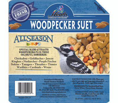 Heath DD-24 All Season Suet Woodpecker Blend