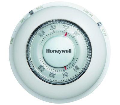 Honeywell YCT87N 1006 Thermostat Heat/Cool Round