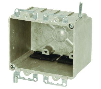 Allied Moulded 9312-EWK Fiberglassbox 2Gang Old Work Fiberglass Box