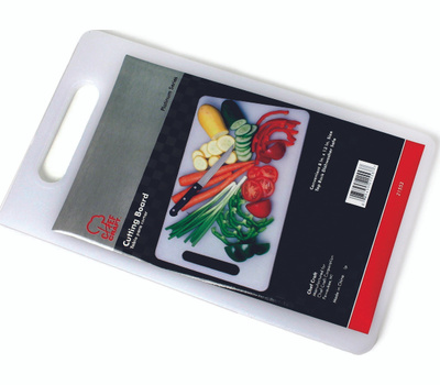 Chef Craft 21553 White Cutting Board 13 Inches By 8 Inches