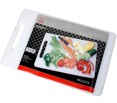 Chef Craft 21554 White Cutting Board 17-1/2 By 11 Inches
