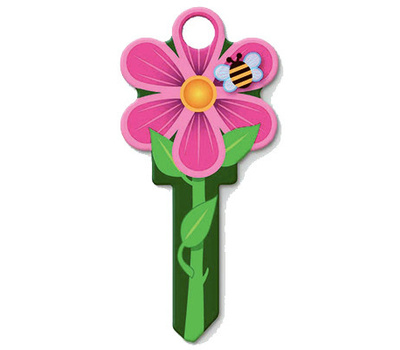 Lucky Line B106S Key Blank Flower Schlage
