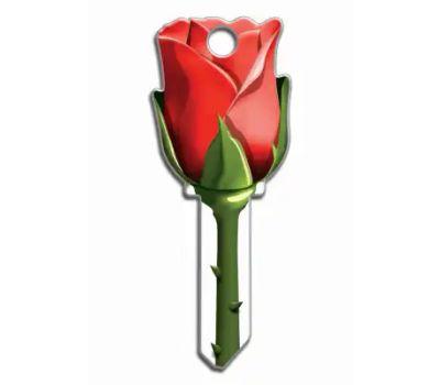 Lucky Line B107K Key Blank Rose Kwikset