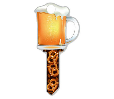 Lucky Line B110S Key Blank Beer Schlage