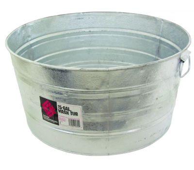 Behrens 3 Wash Tub Round 17 Gallon
