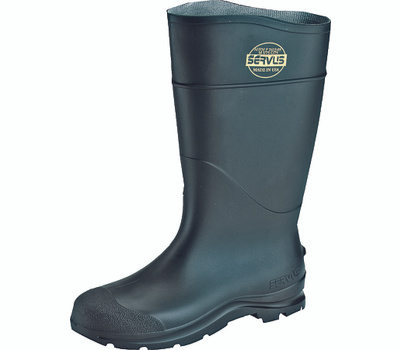Honeywell Safety 18821-8 Servus Size 8 Black Steel Toe Boot 16 Inch