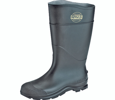 Honeywell Safety 18822-6 Servus Non-Insulated Knee Boots, 6, Black, Pvc Upper, No