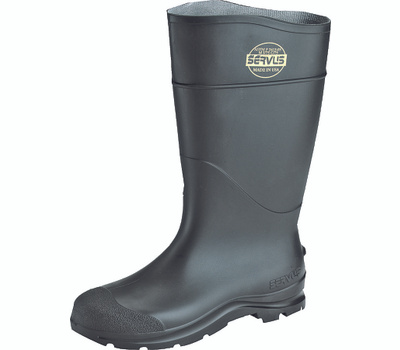 Honeywell Safety 18822-9 Servus Non-Insulated Knee Boots, 9, Black, Pvc Upper, No