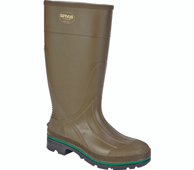Honeywell Safety 75120-11 Servus Northener Non-Insulated Work Boots, 11, Brown/Green/Olive, Pvc Upper, No