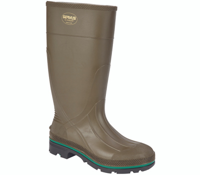 Honeywell Safety 75120-12 Servus Northener Non-Insulated Work Boots, 12, Brown/Green/Olive, Pvc Upper, No