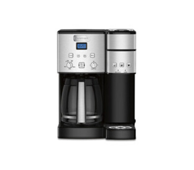 Cuisinart SS-15P1 Coffee Center Coffee Maker and Single Serve Brewer, 12 Cup Capacity, Black, Automatic Control