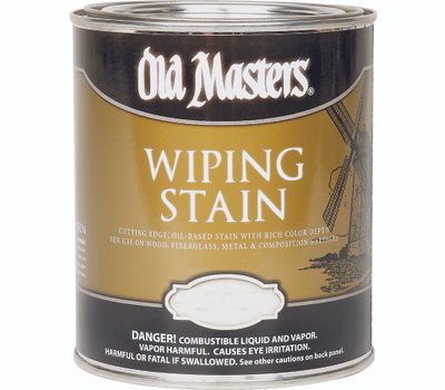 Old Masters 11404 Wiping Stain Red Mahogany Quart