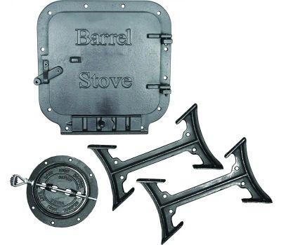 US Stove BK100E/BSK1000 Stove Kit Standard Barrel