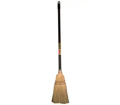 Rubbermaid Commercial 1880163 Upright Broom, 7-1/2 in L Trim, Corn Fiber Bristle